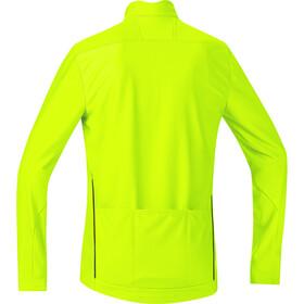 GORE BIKE WEAR Element maglietta a maniche lunghe Uomo giallo